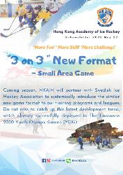 """""""3 on 3"""" New Format-Small area game"""