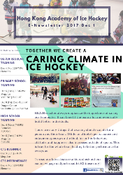 Together We Create a Caring Climate in Ice Hockey