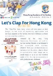 Let's Clap for Hong Kong