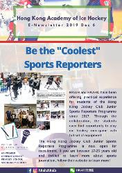 """Be the """"Coolest"""" Sports Reporters"""
