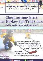 Check Out Our latest Ice Hockey Fun Trial Class